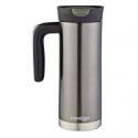 Deals List: Contigo SNAPSEAL Superior Stainless Steel Travel Mug with Handle, 20 oz., Gunmetal