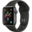 Deals List: Apple Watch Series 4 GPS 44mm Space Gray Case with Black Sport Band MU6D2LL/A, open box