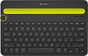 Deals List: Logitech Bluetooth Multi-Device Keyboard K480 – Black – works with Windows and Mac Computers, Android and iOS Tablets and Smartphones