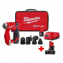 Deals List: Milwaukee M12 FUEL 12-V Cordless 3/8 in. Drill Driver Kit
