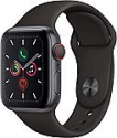 Deals List: Apple Watch Series 5 (GPS + Cellular, 40mm) - Space Gray Aluminum Case with Black Sport Band
