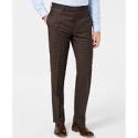Deals List: Lauren Ralph Lauren Mens Classic-Fit Windowpane Flannel Dress Pants