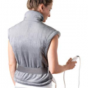 """Deals List: Pure Enrichment PureRelief XL Heating Pad for Back Pain and Cramps - Fast-Heating, Ultra-Soft Heat Therapy with 6 Temperature Settings and Auto Shut-Off Feature - 12"""" x 24"""" (Charcoal Gray)"""