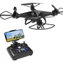 Deals List: Holy Stone HS110D FPV RC Drone with 720P HD Camera Live Video 120° Wide-Angle WiFi Quadcopter with Altitude Hold Headless Mode 3D Flips RTF with Modular Battery