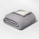 Deals List: Threshold Solid Sherpa Throw Blanket