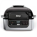 "Deals List: Ninja Foodi 5-in-1 4-qt. Air Fryer, Roast, Bake, Dehydrate Indoor Electric Grill (AG301), 10"" x 10"", Black and Silver"