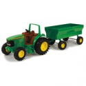 """Deals List: John Deere Toy Tractor Set 8"""" Tractor with Flarebox Wagon"""