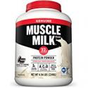 Deals List: Muscle Milk Genuine Protein Powder Cookies 32g Protein 4.94 Pound