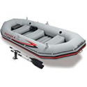 Deals List: Intex Mariner 4, 4-Person Inflatable Boat Set with Aluminum Oars and High Output Air Pump (Latest Model)