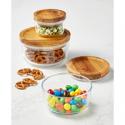 Deals List: Pyrex 6-Pc. Storage Set with Wood Lids
