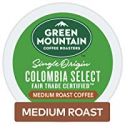 Deals List: Green Mountain Coffee Roasters Colombia Select Keurig Single-Serve K-Cup Pods, Medium Roast Coffee, 72 Count