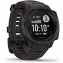 Deals List: Garmin Instinct, Rugged Outdoor Watch with GPS, Features GLONASS and Galileo, Heart Rate Monitoring and 3-axis Compass, Graphite
