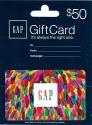 Deals List: $50 Gap Gift Card