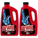 Deals List: 2-Pack Drano Max Gel Clog Remover 80 fl oz