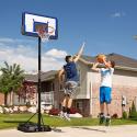 Deals List: Lifetime Height Adjustable Portable Basketball System, 44 Inch Backboard
