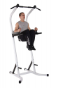 Deals List: Body Champ Fitness Multi Function Power Tower/Multi Station for Home Office Gym Dip Stands Pull Up VKR/Space Saving PT600