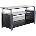 Deals List: OneSpace Basics Tv Stand With Steel Frame And Tempered Glass