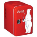 Deals List: Coca-Cola 6 Can Personal Mini Cooler Mini Fridge KWC-4