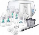 Deals List: Philips Avent Anti-colic Baby Bottle with AirFree vent Gift Set All In One, SCD397/02