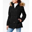 Deals List: Tommy Hilfiger Womens Hooded Faux-Fur-Trim Puffer Coat