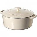 Deals List: Cuisinart Casserole Cast Iron, Cream, 7 quart