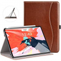 Deals List: Ztotop Case for iPad Pro 11 Inch 2018 Release, Premium Leather Slim Multiple Viewing Angles Folding Stand Folio Cover with Auto Wake/Sleep (Support 2nd Gen Apple Pencil Wireless Charging)