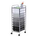 Deals List: Honey Can Do Rolling Storage Cart with 10 Shaded Drawers