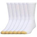 Deals List: 6-Pack Gold Toe Mens Cotton Crew 656s Athletic Sock