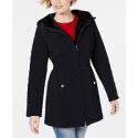 Deals List: Laundry by Shelli Segal Faux-Fur-Trim Hooded Jacket