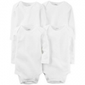 Deals List: Carters Baby Boys or Baby Girls 4-Pack Solid Bodysuits