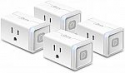 Deals List: 4-Pack Kasa Smart WiFi Plug Lite by TP-Link (HS103P4)