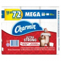 Deals List: 54-Count Charmin Ultra Strong Toilet Paper Mega Rolls + $10 GC