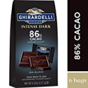 Deals List: Ghirardelli Intense Dark Chocolate Squares - 86% Cacao – Dark chocolate with hints of cherries and plums – 4.12 oz. (117.1g) (Pack of 6)