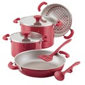 Deals List: Rachael Ray Create Delicious 8-pc. Stacking Cookware Set