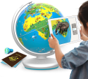 Deals List: Shifu Orboot (App Based): Augmented Reality Interactive Globe for Kids, Stem Toy for Boys & Girls Age 4 to 10 Years | Educational Toy Gift (No Borders, No Names On Globe)