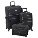 Deals List: Leisure Getaway II 3-Piece Spinner Luggage Set + Free $15 Kohls Cash