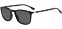 Deals List: Hugo Boss Polarized Matte Black Optyl Soft Square Sunglasses Mens