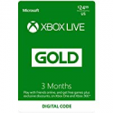 Deals List: Microsoft Xbox Live 3 Month Gold Membership (Email Delivery)