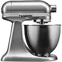 Deals List: KitchenAid Artisan Mini KSM3311XCU 14-Cup Mixer - Contour Silver - 250W