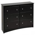 Deals List: Prepac Sonoma 6 Drawer Dresser