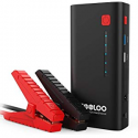 Deals List: GOOLOO 800A Peak 18000mAh SuperSafe Car Jump Starter with USB Quick Charge 3.0 (Up to 7.0L Gas or 5.5L Diesel Engine), 12V Portable Power Pack Auto Battery Booster Phone Charger Built-in LED Light