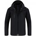 Deals List: CAMEL Outdoor Jacket Men Winter Ski Jacket Windbreaker 3 in1 Hooded Rain Coat for Traveling Climbing Hiking 2.0