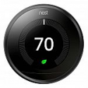 Deals List: Google Nest Learning Thermostat (Black) - Works With the Google Assistant