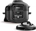 Deals List: Ninja Foodi 7-in-1 Programmable Pressure Fryer, Slow Multi Cooker with TenderCrisp Technology, 5 Pot, 3-qt. Air Fry Basket (OP101), 5-Quart, Black/Gray