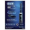 Deals List: Oral-B Genius X Rechargeable Electric Toothbrush with Artificial Intelligence, 3 Replacement Brush Heads, 1 Travel Case