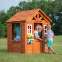 Deals List: Backyard Discovery Timberlake Cedar Wooden Playhouse
