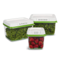 Deals List: Rubbermaid FreshWorks Produce Saver Food Storage Container,1-Medium/2-Large, 3-Piece Set, Green