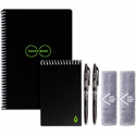 """Deals List: Rocketbook Fusion Smart Reusable Notebook - Calendar, To-Do Lists, and Note Template Pages with 1 Pilot Frixion Pen & 1 Microfiber Cloth Included - Infinity Black Cover, Letter Size (8.5"""" x 11"""")"""