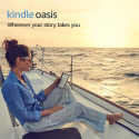 """Deals List: Kindle Oasis E-reader (Previous Generation - 9th) - Graphite, 7"""" High-Resolution Display (300 ppi), Waterproof, Built-In Audible, 32 GB, Wi-Fi + Free Cellular Connectivity (Closeout)"""