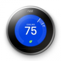 Deals List: Google, T3007ES, Nest Learning Thermostat, 3rd Gen, Smart Thermostat, Stainless Steel, Works With Alexa